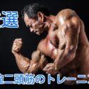 【厳選】上腕二頭筋を鍛えるおすすめの筋トレメニュー!腕を太くするならこれ!