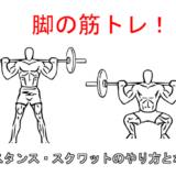 【脚の筋トレ】ワイドスタンススクワットの正しいやり方と5つのポイント